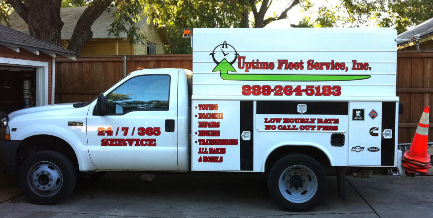 Uptime Repair Truck comes to your rescue